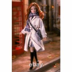 Mattel Burberry Barbie White Coat Doll 2001 Limited Edition 29421
