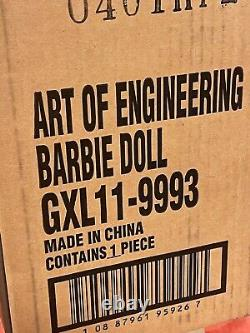 Mattel Creations Art of Engineering Barbie Doll NRFB in Shipper Limited Edition
