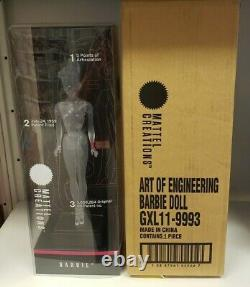 Mattel Creations Limited Edition Clear Barbie NRFB In Hand Ships Free