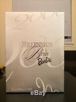 Mattel Millennium Bride Barbie Doll 2000 Limited Edition 10k! Read Description