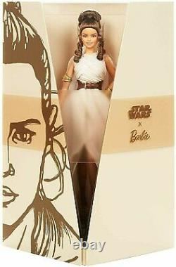 Mattel Star Wars Rey X Barbie Doll #gly28 New In Factory's Box Limited Edition