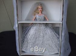 Millennium Bride Barbie 2000 Limited Edition Collector's Pin NRFB MIB Shipper