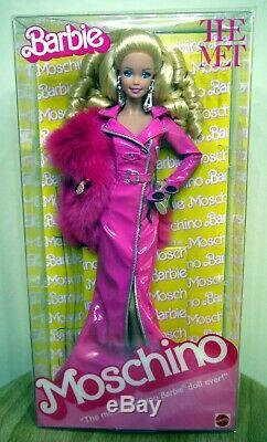 Moschino MET Gala 2019 Caucasian Barbie Doll Limited Edition NRFB in tissue