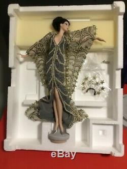 NEW Barbie ERTE Stardust Limited Edition Porcelain Doll Mattel 1994