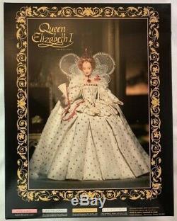 NIB 2004 Gold Label Queen Elizabeth I Barbie Doll / Woman of Royalty Limited Ed