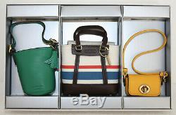 NIB Extremely Rare Coach Handbags for Barbie Trio Limited Edition Set