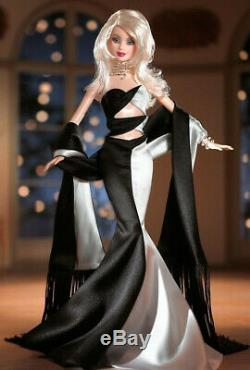 NOIR et BLANC LIMITED EDITION DESIGNED BARBIE COLLECTOR NRFB with shipper
