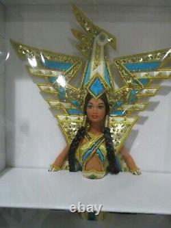 NRFB 2000 Bob Mackie FANTASY GODDESS OF THE AMERICAS Barbie #25859 Limited w COA