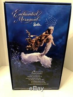 NRFB 2001 Barbie Fantasy Enchanted Mermaid Limited Edition Doll #53978 RARE