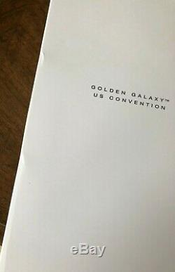 NRFB Golden Galaxy AA 2017 Convention Barbie Doll 300 Limited Edition