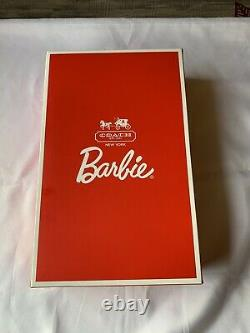 New Coach Barbie Gold Label Limited 2013 Leather Handbag