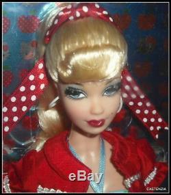 Nrfb Mattel Barbie Doll 2008 Hello Kitty Sanrio Limited Edition Pink Label