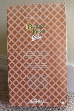 ORANGE PEKOE VICTORIAN TEA PORCELAIN BARBIE DOLL 25507 LIMITED EDITION of 4000