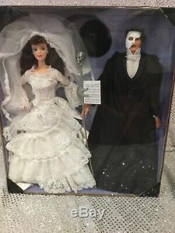 Phantom Of The Opera Barbie & Ken Dolls 1998 Fao Schwarz Limited Ed 20377 Nrfb