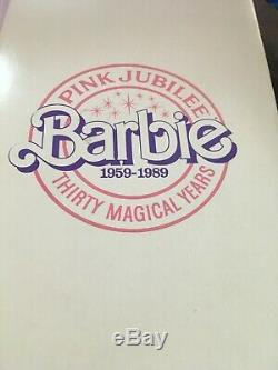 Pink Jubilee Barbie Doll Thirty Magical Years 1959 1989 Limited Edition of 1200