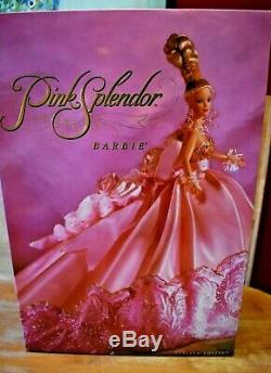 Pink Splendor 1996 Barbie Doll Limited Edition Only 10,000 sold! NEW IN BOX