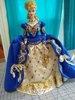 Porcelain Silkstone Bob Mackie Faberge Imperial Elegance Barbie Doll Limited