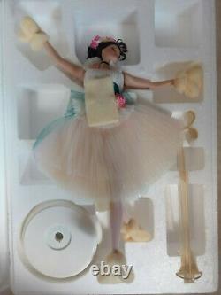 Prima Ballerina Lighter Than Air Porcelain Barbie Doll 2001 Limited Edition