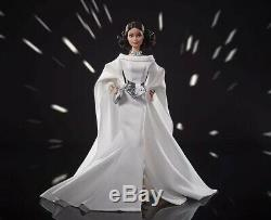 Princess Leia Star Wars x Barbie Doll GHT78 Unopened Limited Edition