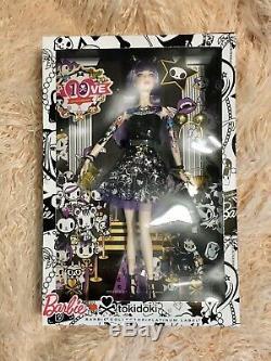 Purple tokidoki Label 2015 Barbie Doll Rare Limited Platinum New