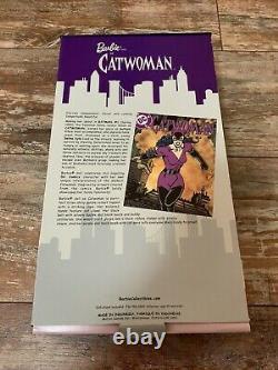 RARE Catwoman Batman Barbie Mattel + Marvel 2004 Limited Edition NEW In Box