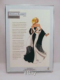 RARE Noir et Blanc Barbie NRFB Limited Edition Release with Original Shipper