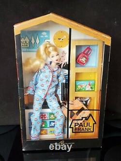 Rare Mattel Barbie Paul Frank Doll Sky Blue Limited Edition 2004