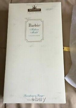 Ravishing In Rouge Barbie Limited Edition Fao Schwarz
