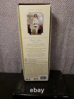 Robert Best Trench Setter Silkstone Barbie Doll Limited Edition Mattel B3442 Nib