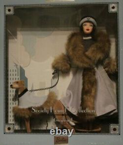 Society Hound Collection Greyhound Limited Edition Barbie 2000 Mattel #29057