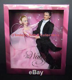 THE WALTZ Limited Ed BARBIE & KEN GIFTSET w Formal Dance Attire B2655 NRFB