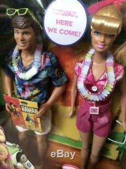 Toy Story Hawaiian Barbie & Ken Mattel limited