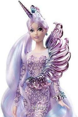 Unicorn Barbie Doll Goddess Mythical Muse Gold Label Limited Edition #FJH82 NRFB