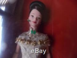 Vintage Barbie Golden Qi-pao 1998 Hongkong Anniversary Edition Limited Nrfb