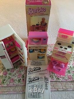 Vintage Original 1985 Barbie Dream House-(Furnished) Limited Time Only