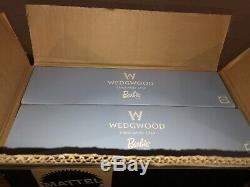 WEDGWOOD ENGLAND 1759 BARBIE DOLL SET MATTEL LIMITED ED. MINT NRFB Wedgewood
