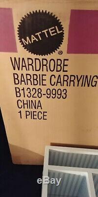 Wardrobe Barbie Carrying Case Fashion Model Silkstone 2003 Limited Edition