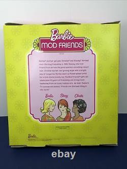 12 Mattel Barbie Doll Mod Friends Christie Stacey 1968 Ensemble Cadeau Limited Ed Onf