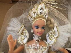 1992 Poupée En Édition Limitée Barbie Empress Bride De Bob Mackie