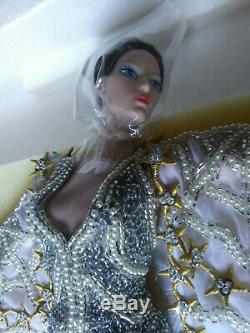 1994 Erté Stardust Porcelaine Barbie Nrfb Mint Nrfb Mint # 10993 Limited Edition