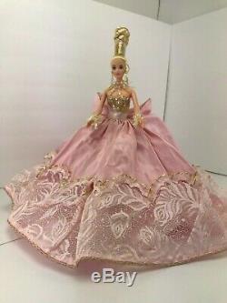 1996 Exclusive Limited Ed. N ° 243 Sur 10000 Poupée Barbie Rose Splendor