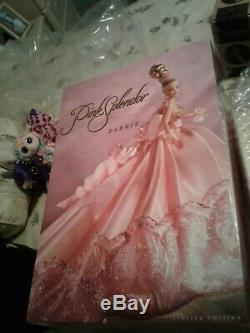 1996 Nrfb Splendeur Rose Barbie Limited Edition # 16091