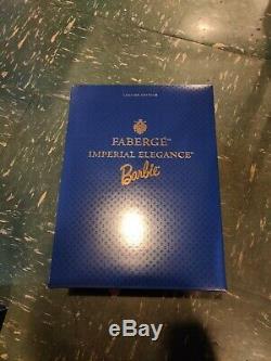 1997 Faberge Imperial Elegance Poupée Barbie En Porcelaine Édition Limitée # 03690