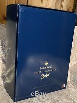 1997 Faberge Imperial Elegance Poupée Barbie En Porcelaine Swarovski, Édition Limitée