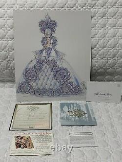 1997 Madame Du Barbie Ten In A Series By Bob Mackie Limited Ed Mattel 17934