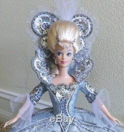 1997 Mattel Bob Mackie Édition Limitée Poupée Madame Du Barbie Avecstand Coa & Litho