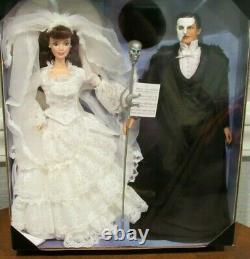 1998 Barbie & Ken In Phantom Of The Opera Fao Schwarz Edition Limitée Nrfb