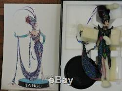 1998 Bob Mackie Le Tango Poupée Barbie Édition Limitée Porcelaine Mattel 23451