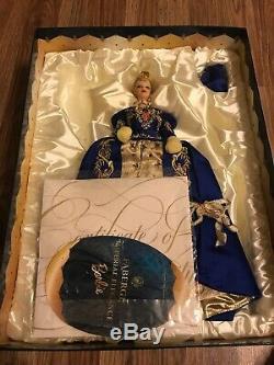 1998 Fabergé Imperial Elegance Porcelaine Barbie 19816 Limited Edition