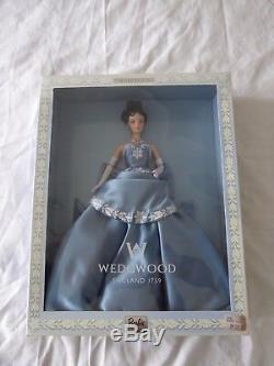 1999 Édition Limitée Wedgwood Poupée Barbie England 1759 Mattel 25641 Nouveau